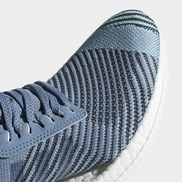 6dfedc703 Ultraboost X Parley Shoes Raw Grey   Carbon   Blue Spirit AQ0421