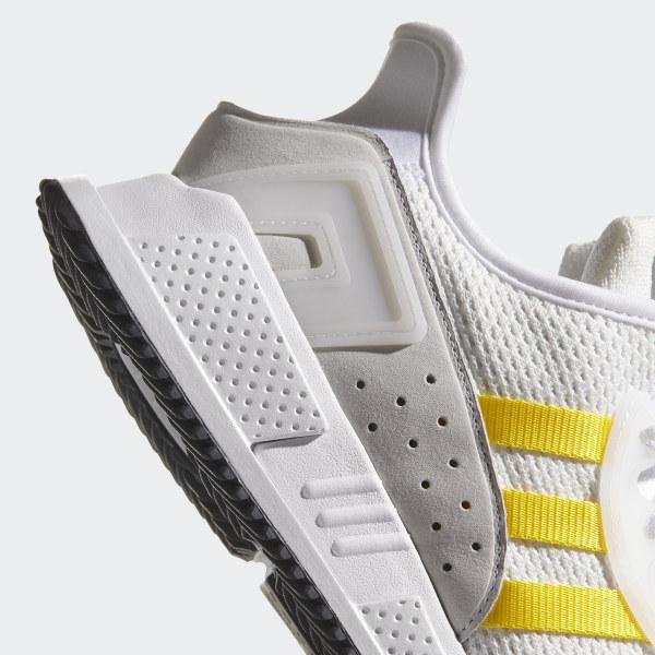 low cost 72039 c7530 EQT Cushion ADV Shoes Ftwr WhiteEqt YellowSilver Metallic CQ2375