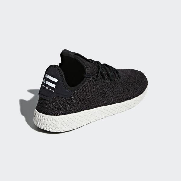 c076cf9257a72 Pharrell Williams Tennis Hu Shoes Core Black   Core Black   Chalk White  AQ1056