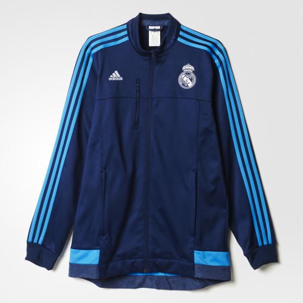 f7472565a5734 Chaqueta Anthem Real Madrid NIGHT INDIGO BRIGHT BLUE AA1662