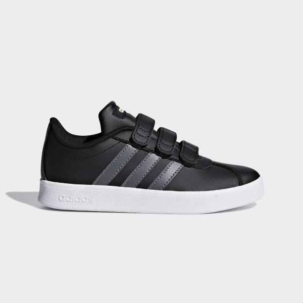 size 40 60482 8fcc0 VL Court 2.0 Schuh Core Black  Grey Five  Ftwr White F36387