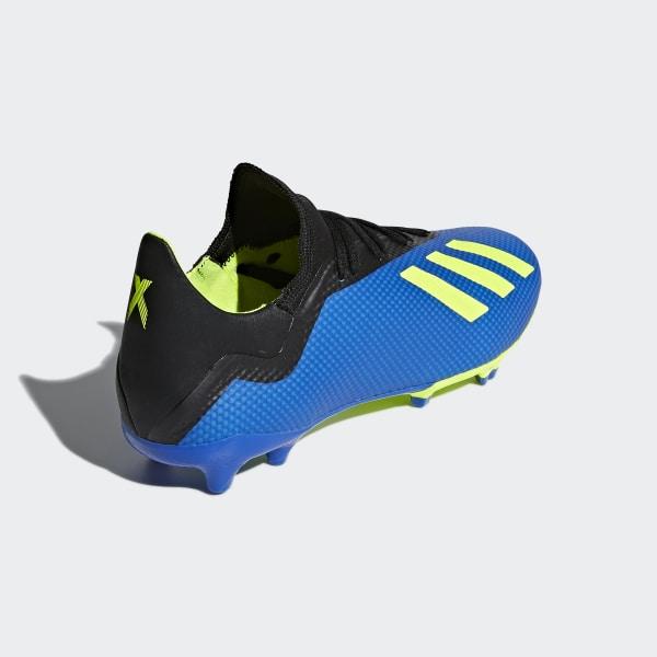 X 18.3 Firm Ground Fotbollsskor Football Blue   Solar Yellow   Core Black  DA9335 14e11ca7dfaa3