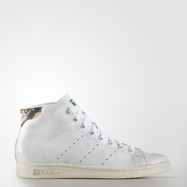 pretty nice 8ada8 907ab Zapatos Originals Stan Smith Mid CORE BLACK CORE BLACK CHALK WHITE S77451