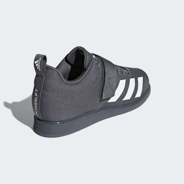 6e7a70ba3ca Powerlift 4 Shoes Grey   Cloud White   Grey F36050