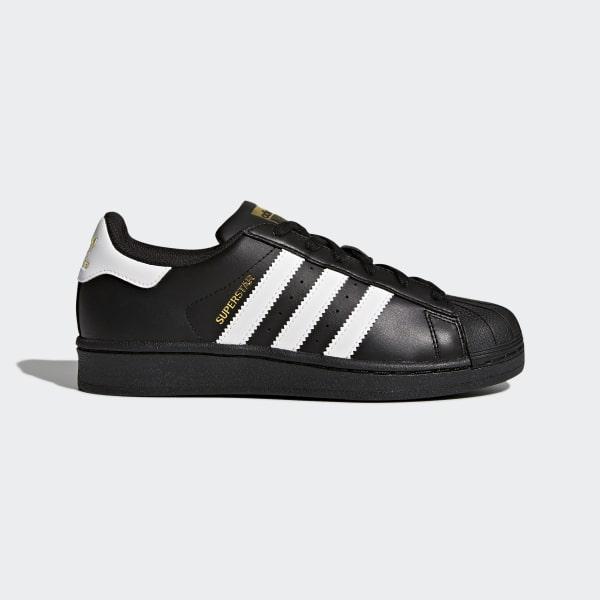 huge selection of 56cf2 4dbb5 Zapatilla Superstar Foundation Core Black Footwear White B23642