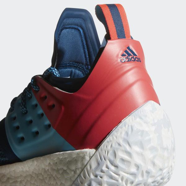 innovative design 00f2c 8ed6b Harden Vol. 2 Shoes Blue Night Bright Cyan Shock Red AH2216