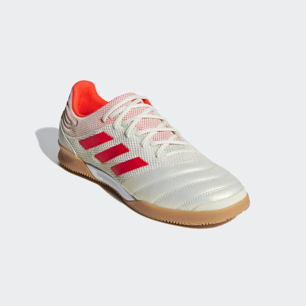 Copa 19.3 Indoor Sala Shoes Off White   Solar Red   Gum M1 D98065 af1b200ddcd