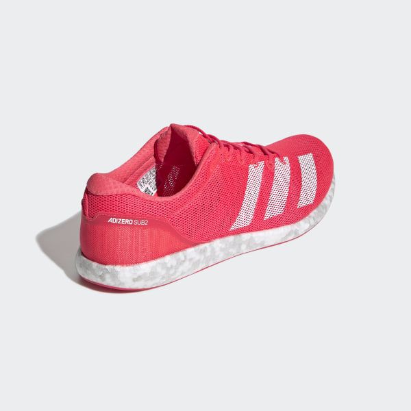 90a9592f966 Adizero Sub 2 Shoes Pink   Ftwr White   Active Pink B37408