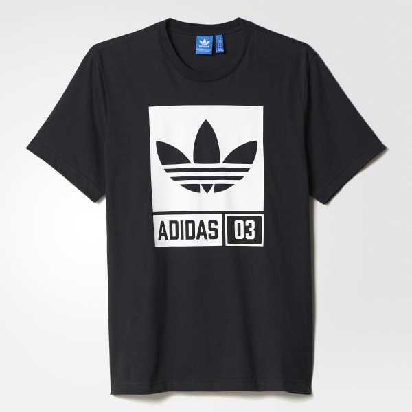 Polera Street Graphic - Negro adidas  84ab0ea30efa1