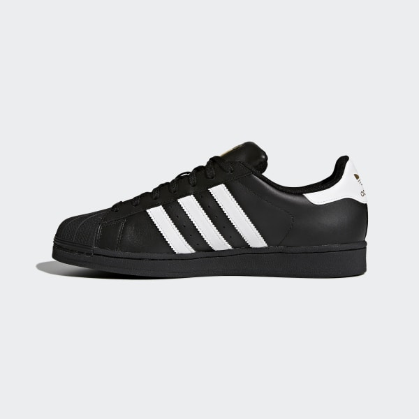 Superstar Foundation Shoes Core Black   Cloud White   Core Black B27140 d84e192fa05e