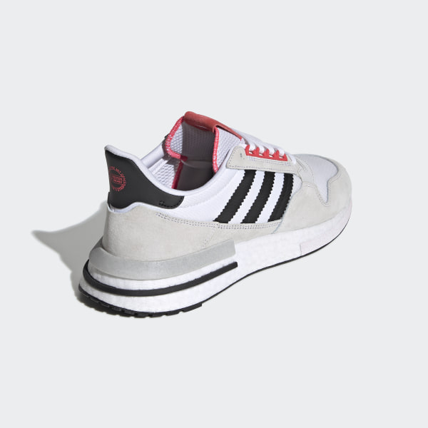 4b2f55044fd6e ZX 500 RM Shoes Ftwr White   Core Black   Shock Red G27577