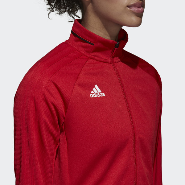 Adidas Tiro 17 Training Jacket Red Adidas Us