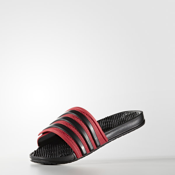 adissage 2.0 3-Stripes Slides Ray Red   Core Black   Core Black BB4110 977a12cb9