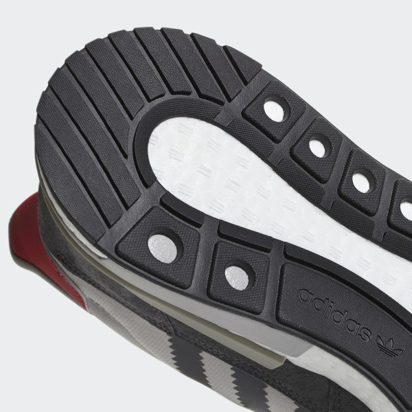 17169f1b23d45 ZX 500 RM Shoes Grey Four   Cloud White   Scarlet B42204