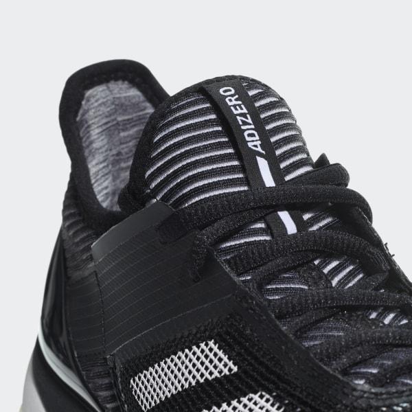 info for 4042a 19214 Adizero Ubersonic 3.0 Clay Shoes Core Black   Ftwr White   Core Black CM7753