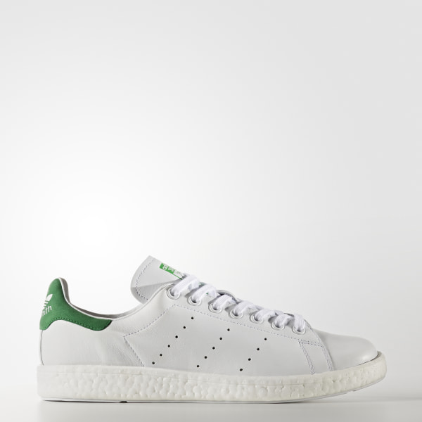 adidas Men s Stan Smith Boost Shoes - White  528dc5ea84167