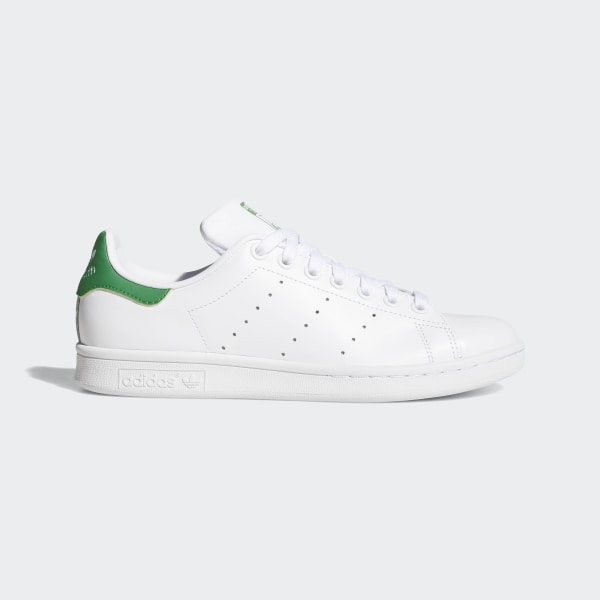official photos e5fda ea5c0 Stan Smith Shoes Cloud White   Cloud White   Green B24105