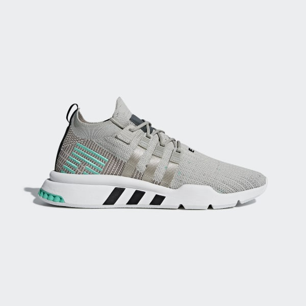 best website 769ec 22d27 Chaussure EQT Support Mid ADV Primeknit Grey   Sesame   Crystal White    Blue B37979