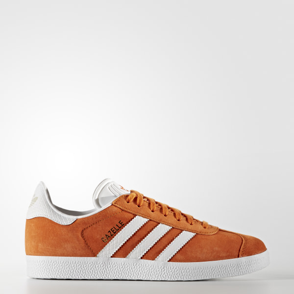 low priced 93ffe 5b65e Zapatillas Originals GAZELLE Mujer TACTILE ORANGE FTWR WHITE GOLD MET.  BY2853