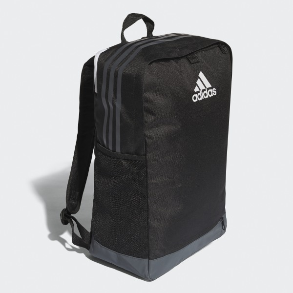 5ed5325e13 Tiro Backpack with Ball Net Black   Grey   White B46132