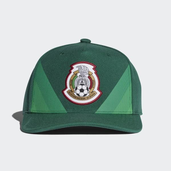 Gorra Mexico Home Flat-Brim 2018 COLLEGIATE GREEN WHITE CF5160 8fde9fb0321