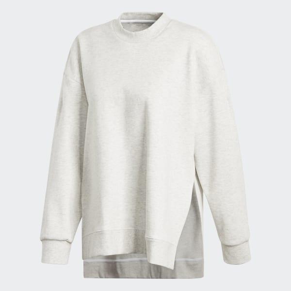 36f1e8ed0ded40 Wanderlust Second Layer Sweatshirt White Melange DT4138