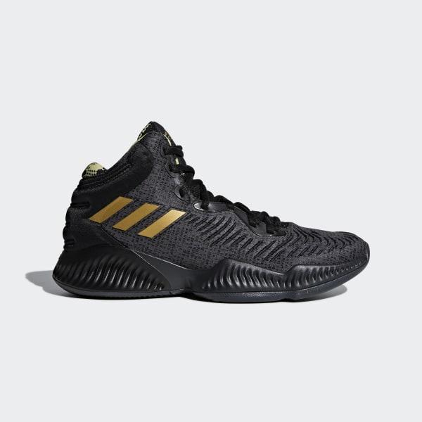 82b8c22d2 Mad Bounce 2018 Shoes Core Black   Gold Met.   Carbon B41870
