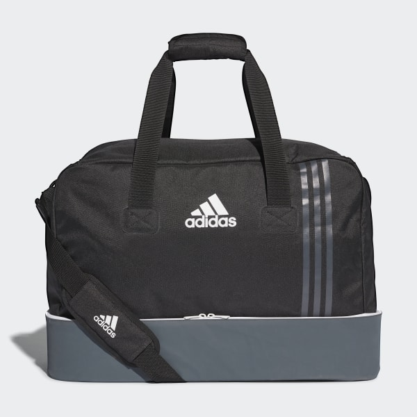 adidas Tiro Team Bag with Bottom Compartment Medium - Black ... a08dd21850ad2