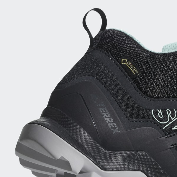 official photos c156b f31da Terrex Swift R2 Mid GTX Shoes Core Black Core Black Ash Green CM7651