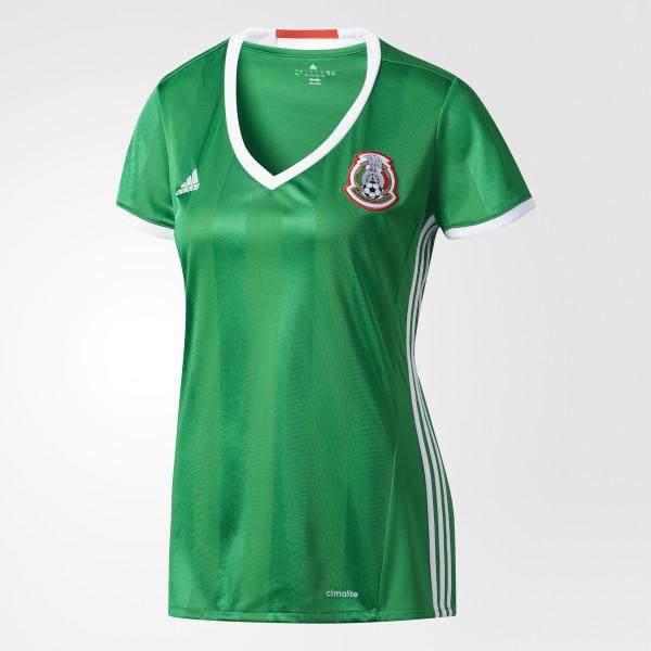 eb7c7961b7921 Jersey Local Selección México GREEN RED WHITE AC2727