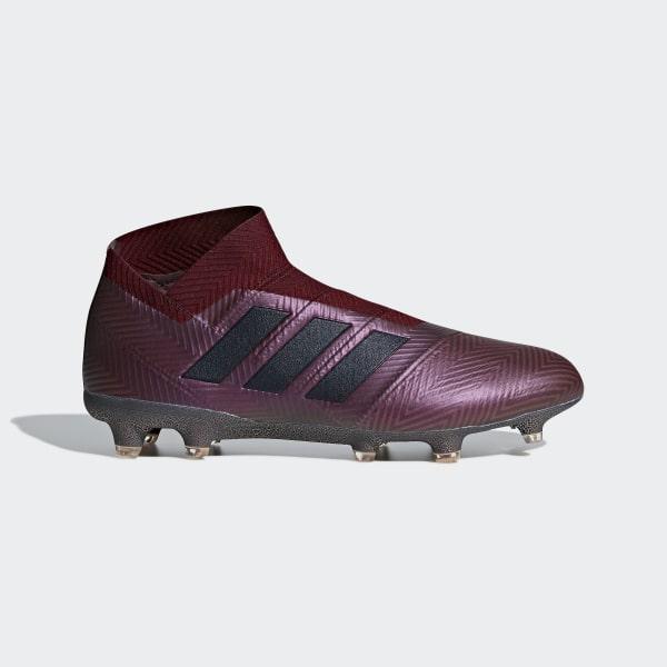 adidas Nemeziz 18+ Firm Ground Cleats - Red  756988d0c