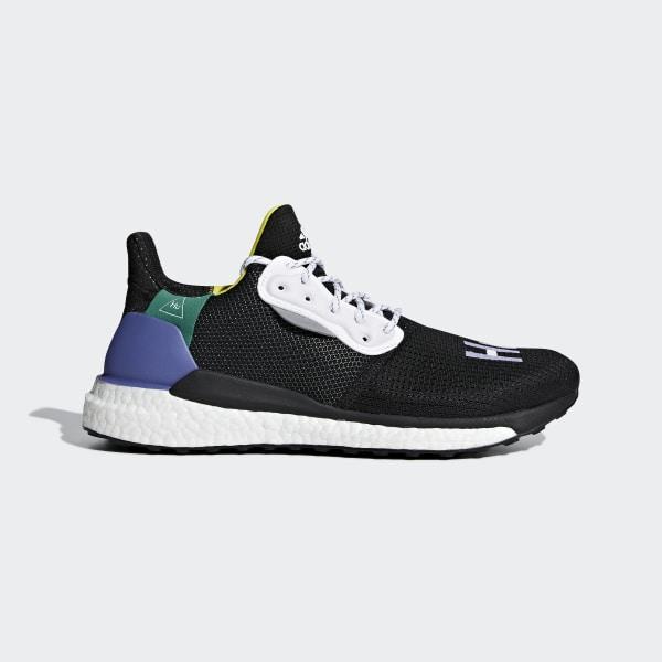 98776b999 adidas Pharrell Williams x adidas Solar Hu Glide Shoes - Black ...