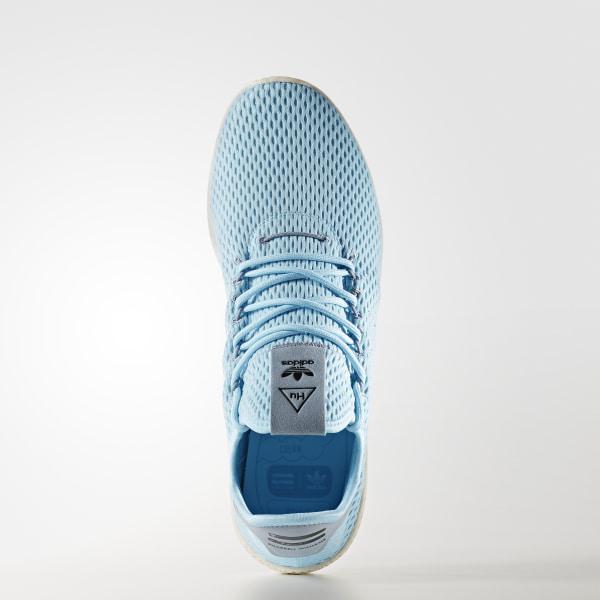 Pharrell Williams Tennis Hu Shoes Icey Blue   Ice Blue   Tactile Blue CP9764 2ec01fb93