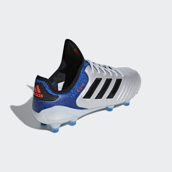 new product 195d3 b5023 Copa 18.1 Firm Ground Boots Silver Met.   Core Black   Football Blue DB2166