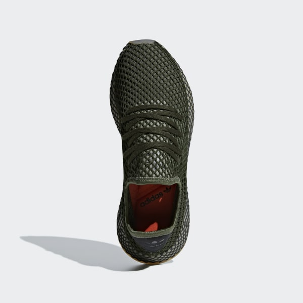 a1623e1b7 Deerupt Runner Shoes Base Green   Base Green   Orange B41771