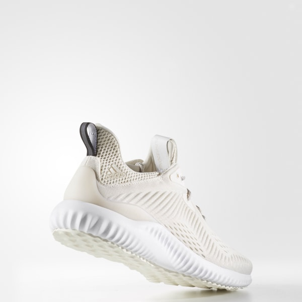 super popular d2c61 5f90a Alphabounce EM Shoes Chalk White   Cloud White   Talc BW1207