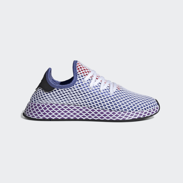 05d554e4d Deerupt Runner Shoes Real Lilac   Active Purple   Shock Red CG6095