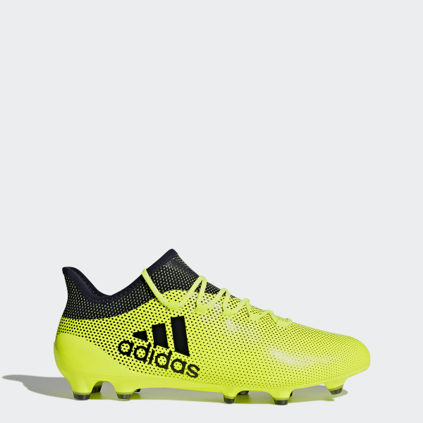 adidas X 17.1 Firm Ground Cleats - Yellow  fb92d3fc0958