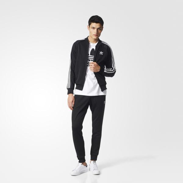 6455455817f61 adidas Pantalón ORIGINALS SST Cuffed - Negro