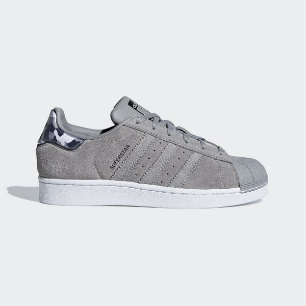 Tenis SUPERSTAR J CH SOLID GREY CH SOLID GREY FTWR WHITE B37261 d84ee24f8c2d0