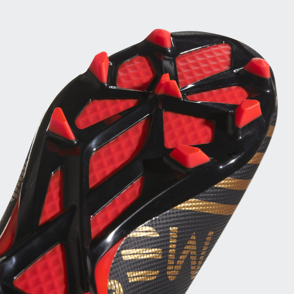 Nemeziz Messi 17.3 Firm Ground Boots Core Black Solar Red Tactile Gold Met. db9c4fc3dfd