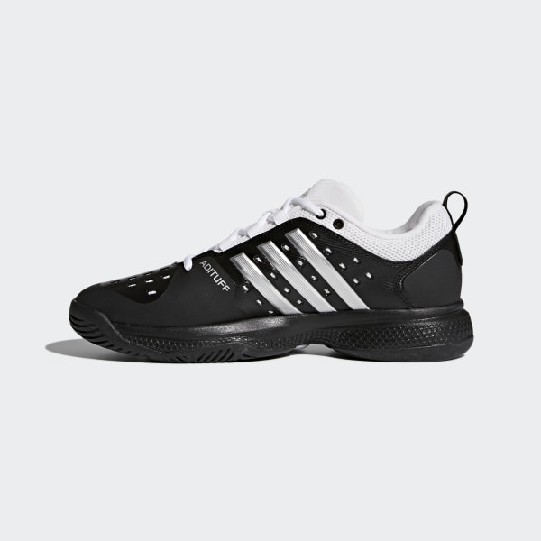 a1e0abb64 Barricade Classic Bounce Shoes Core Black   Silver Metallic   Cloud White  CG3108