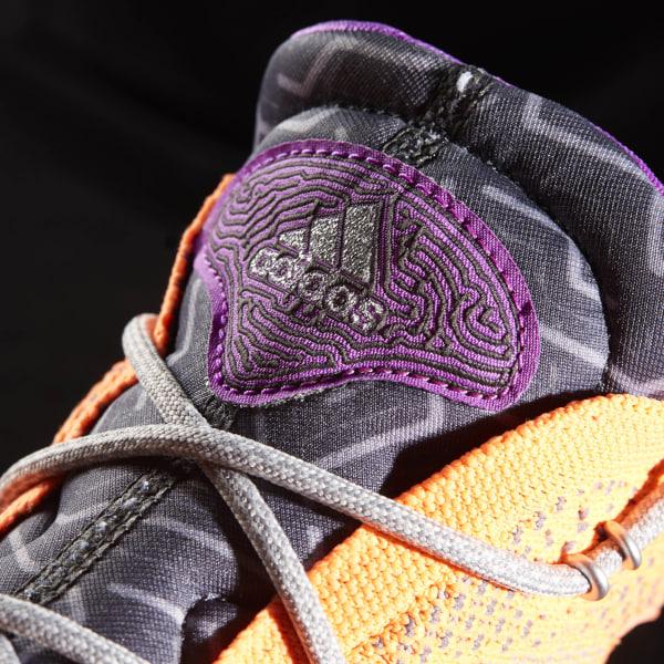 sports shoes 52508 eef72 Crazy Explosive Primeknit Shoes Glow Orange   Silver Metallic   Solid Grey  BB8370