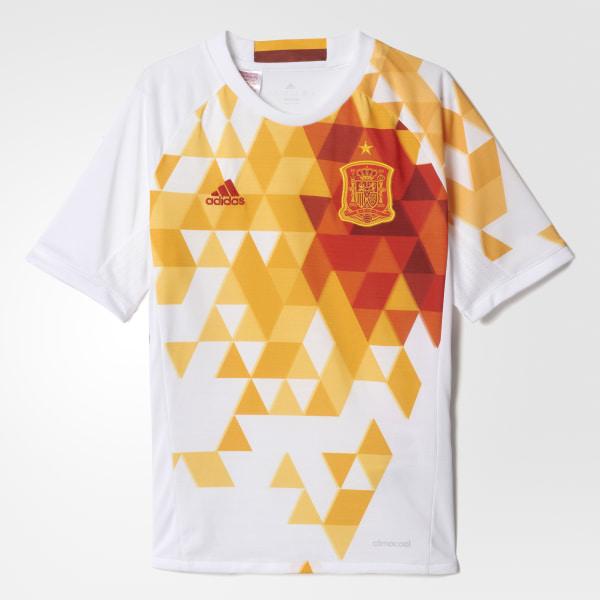 Camiseta segunda equipación España UEFA EURO 2016 WHITE POWER RED AA0814 e17d029c32ecf