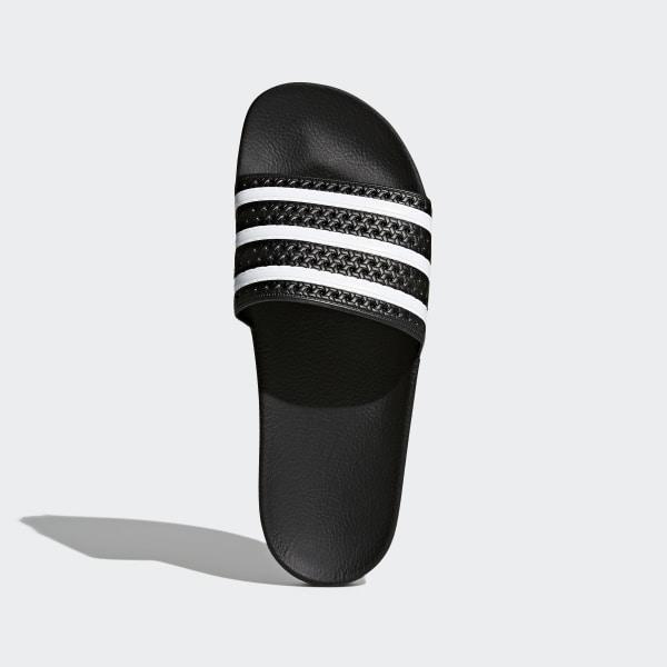 32e739d8744 Adilette Slides Core Black   White   Core Black 280647