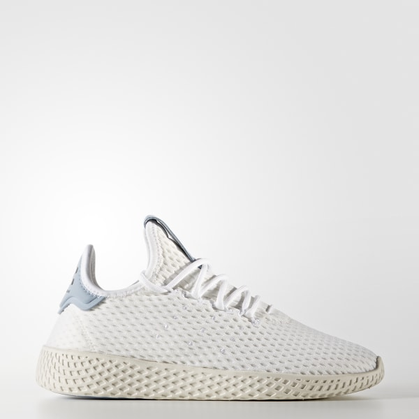 newest 65d15 1cabf Tenis Pharrell Williams Tennis Hu FTWR WHITE FTWR WHITE TACTILE BLUE S17  CP9804