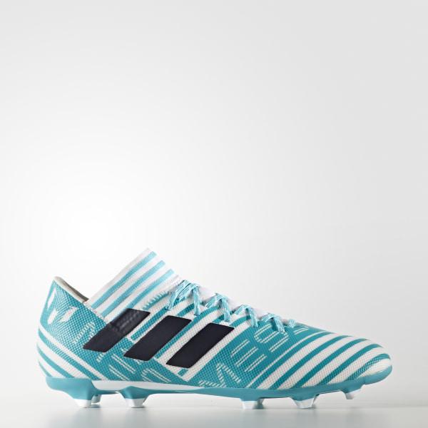 super popular d0670 05568 Calzado Nemeziz Messi 17.3 Firm Ground FTWR WHITE LEGEND INK F17 ENERGY  BLUE S17