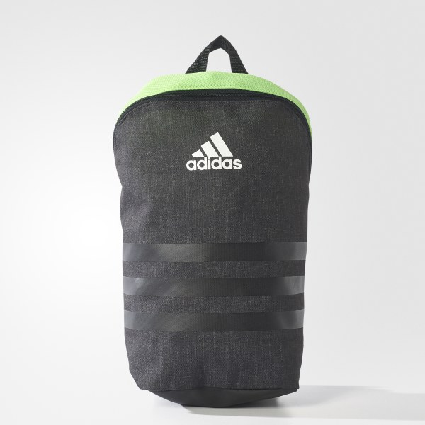 online store a07b9 e9fd8 Mochila para Calzado de Fútbol ACE 17.2 BLACK SOLAR GREEN WHITE BQ1435