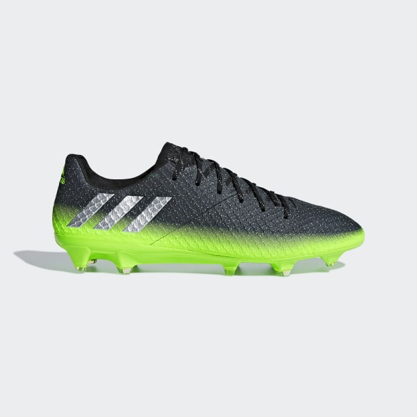 online store a2c5c b0eae Calzado Fútbol Messi 16.1 FG DARK GREY SILVER MET. SOLAR GREEN S79625