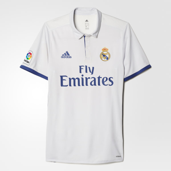 Real Madrid Home Authentic Jersey Crystal White   Raw Purple AI5171 42536a237
